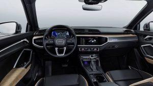 2018 Audi Q3 iç tasarımı