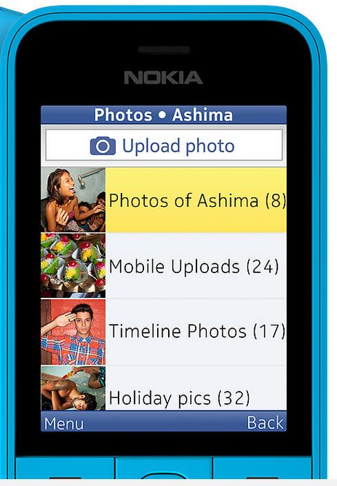 Nokia 220 özellikleri ekran