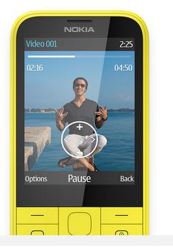 Nokia 225 ekran boyutu