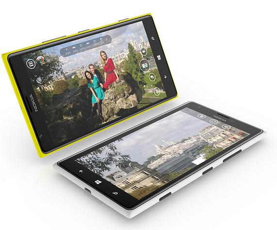 Nokia Lumia 1520 ekran 1
