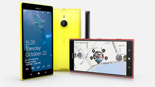 Nokia Lumia 1520 resim