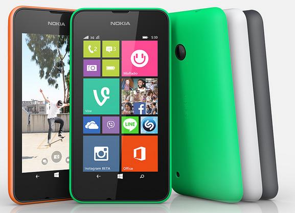 Nokia Lumia 530 özellikleri