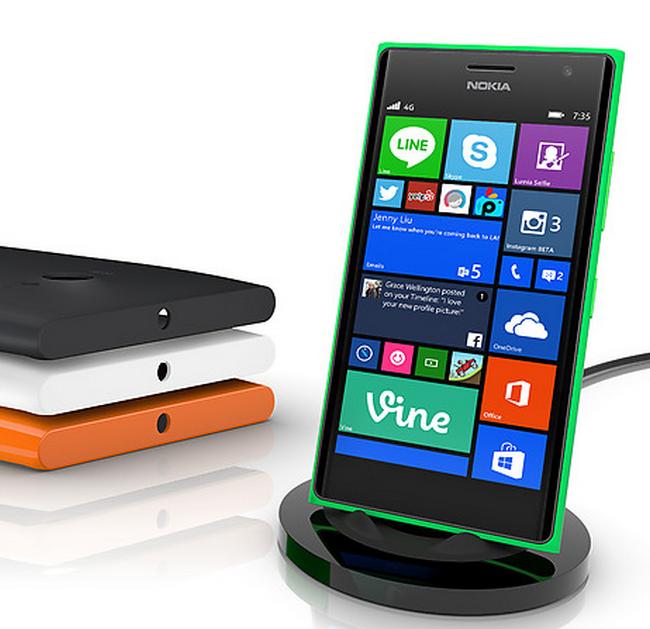 Nokia Lumia 735 kablosuz şarj cihazı kaç para nasıl çalışır