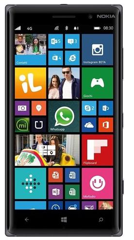 Nokia Lumia 830 ekran