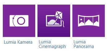 Nokia Lumia 830 görüntüleme uygulamaları