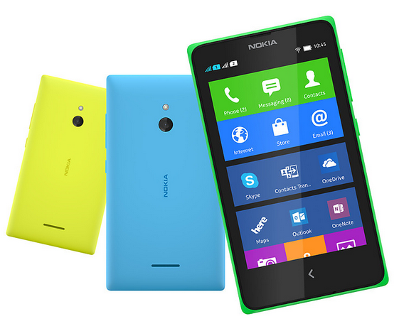 Nokia XL Çift SIM arka kapak