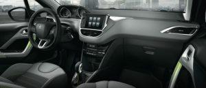 Peugeot 208 iç tasarım