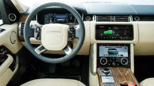 Range Rover P400e Plug-in Hybrid iç