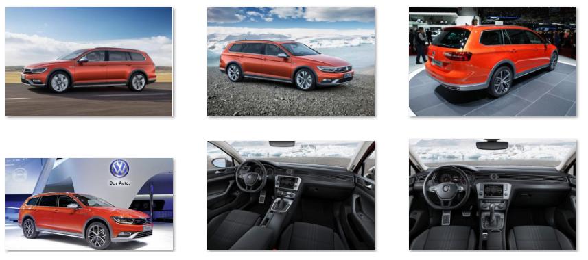 Volkswagen Passat Alltrack 2015 2016 görseller fiyatı sipariş