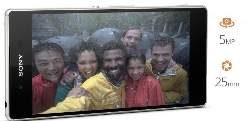 Xperia™ Z3+ selfie kamerası