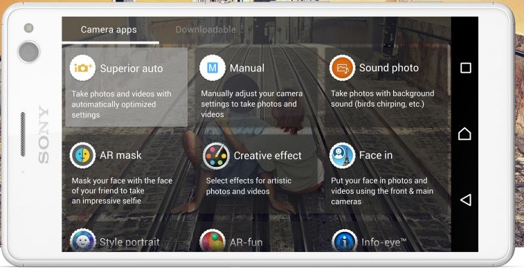 Xperia C4 kamera özellikleri