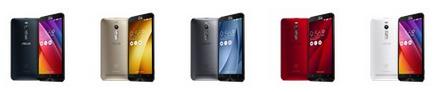 ZenFone 2 (ZE551ML) akıllı telefon renkleri
