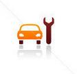araç bakım ikon