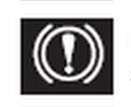 el freni ve fren hidroliği seviyesi uzarı işareti