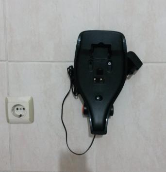 elektrolüks şarjlı el süpürgesi duvar asma aparatı