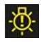gösterge panelindeki ampul içindeki ünlem işaretinin anlamı