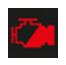 göstergedeki musluk işareti kırmızı