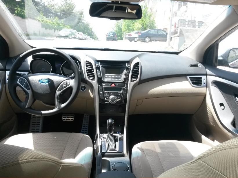 hyundai i30 2015 model araç içi resimler