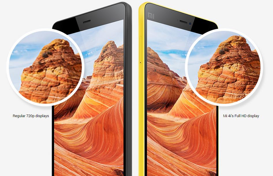 mi4i akıllı telefon arka kamera özellikleri 1