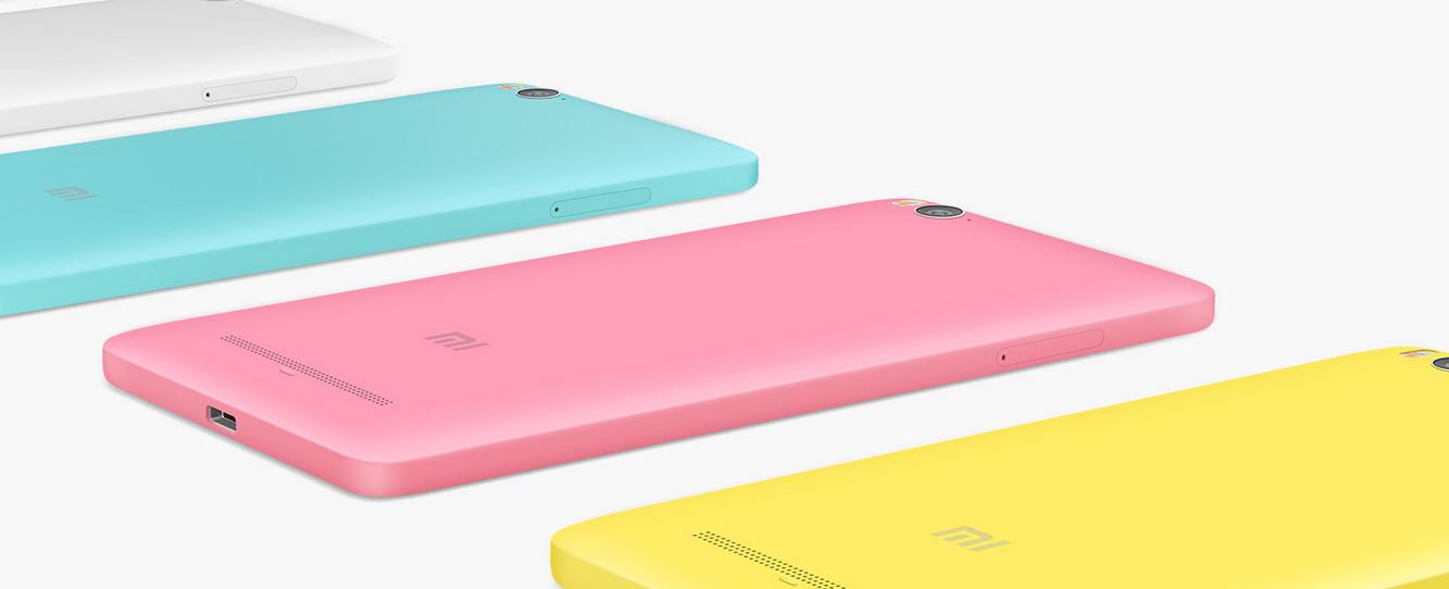 mi4i akıllı telefon renkleri
