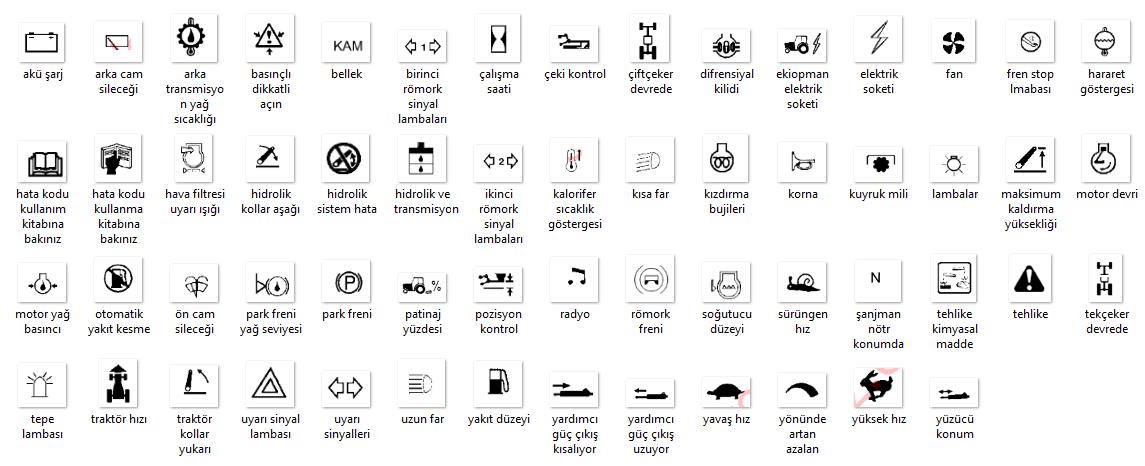 new holland arıza işaretleri