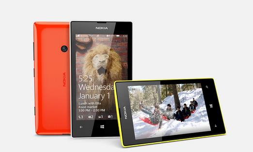 nokia Lumia 525 ekran özellikleri