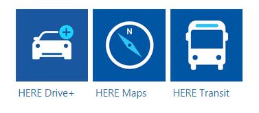 nokia lumia 630 Navigasyon uygulamaları