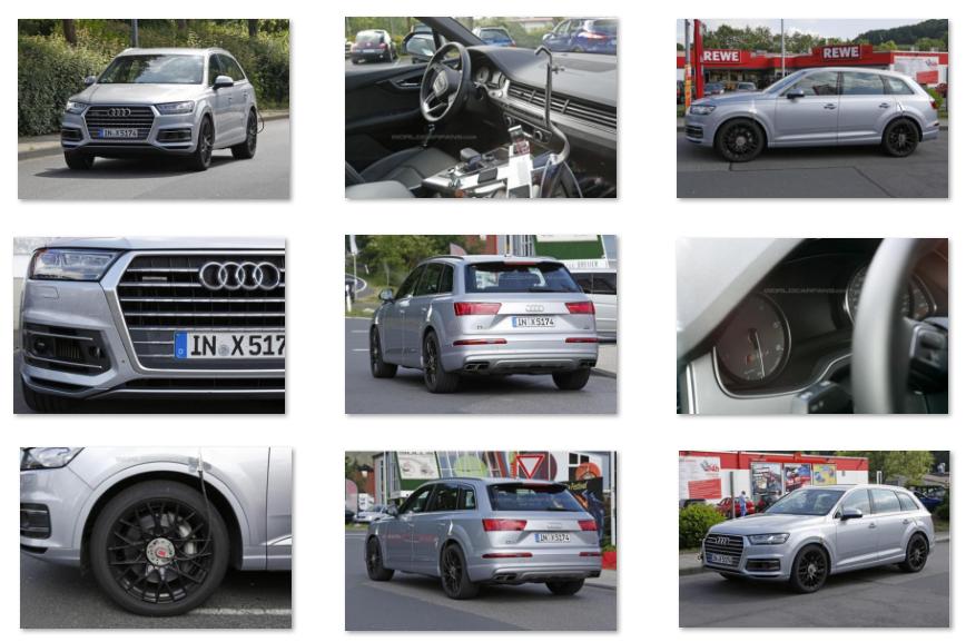 yeni Audi SQ7 resimleri 2016 2017